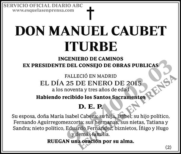 Manuel Caubet Iturbe